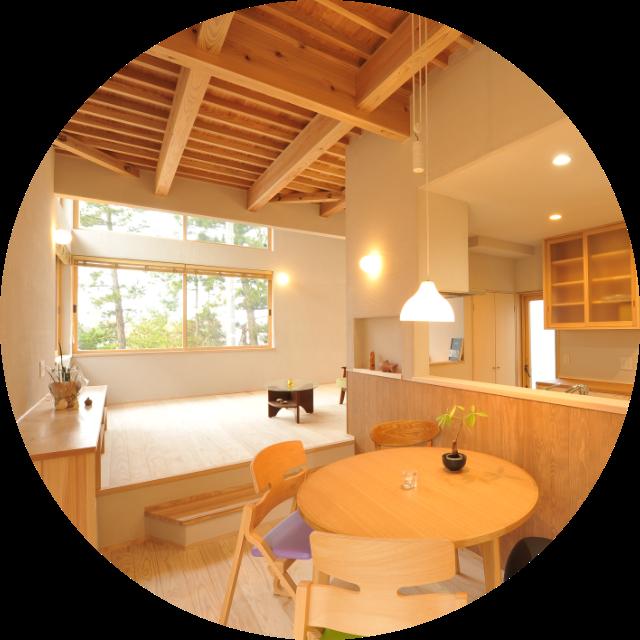 2018年木づかいコンペ優秀賞受賞 新潟市五十嵐2の町の住処