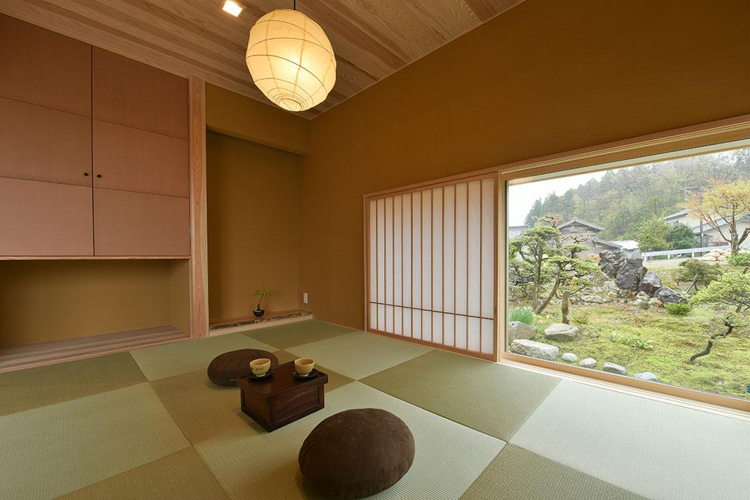 村上山田の住処「庭の中に佇む住まい」2017年4月竣工