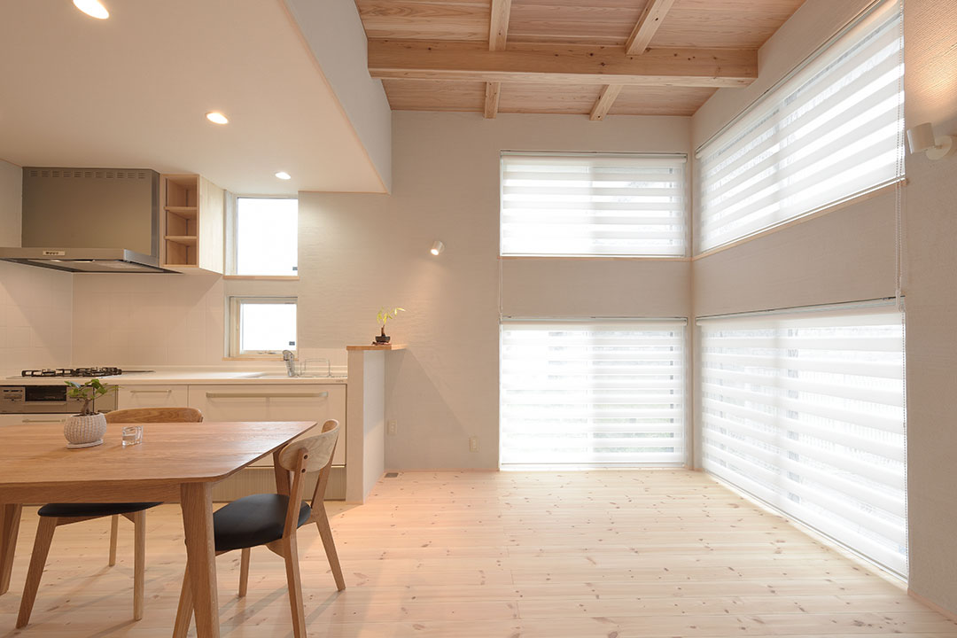 新潟坂井東の住処「aturaly cute house」2017年8月竣工